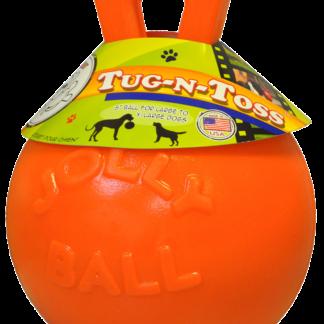 Jolly Tug-n-Toss 10 cm Oranje (Vannilegeur)