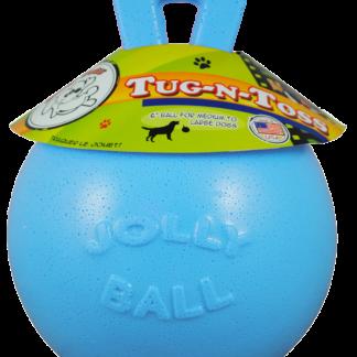 Jolly Tug-n-Toss 20 cm Baby Blauw (Bosbessengeur)