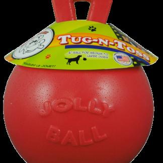 Jolly Tug-n-Toss 25 cm Rood