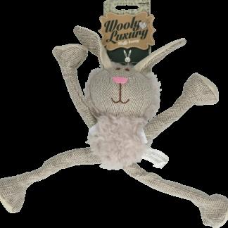 Wooly Luxury Fluffy Konijn Grijs